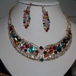 multicoloured-necklace-earrings